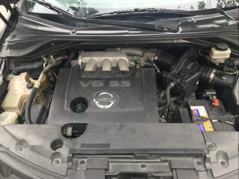 Bán ô tô Nissan Murano AT đời 2007, màu đen, đăng ký lần đầu 2007