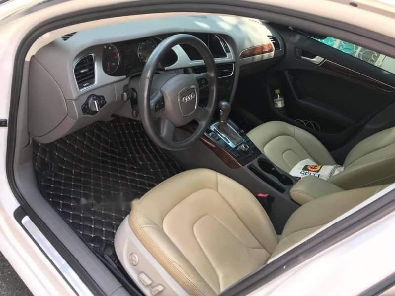 Bán Audi A4 2.0T Quattro sản xuất 2008, màu trắng, nhập khẩu nguyên chiếc chính chủ