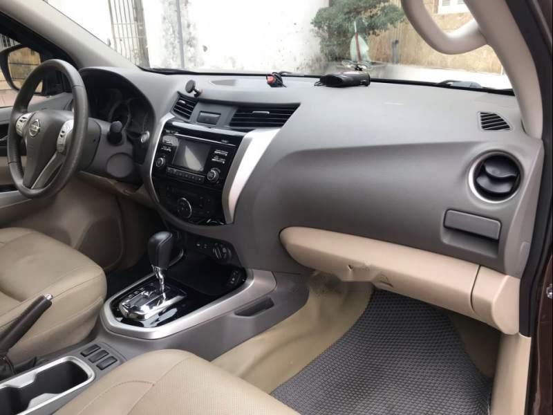 Bán Nissan Navara VL năm 2016, màu nâu, xe nhập