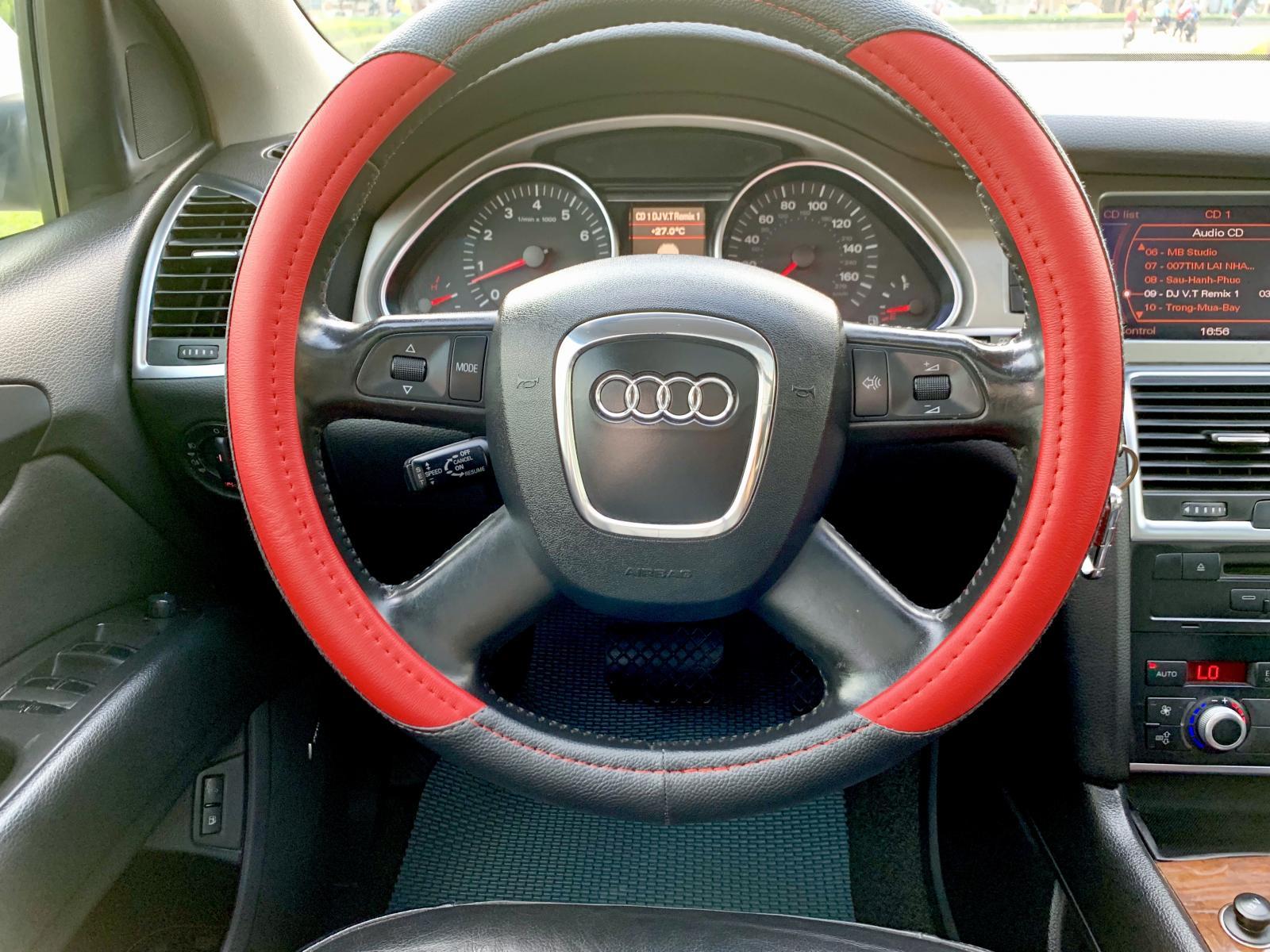 Audi Q7 nhập Đức model 2008, hàng full đủ đồ chơi, hai cầu, số tự động 8 cấp cao