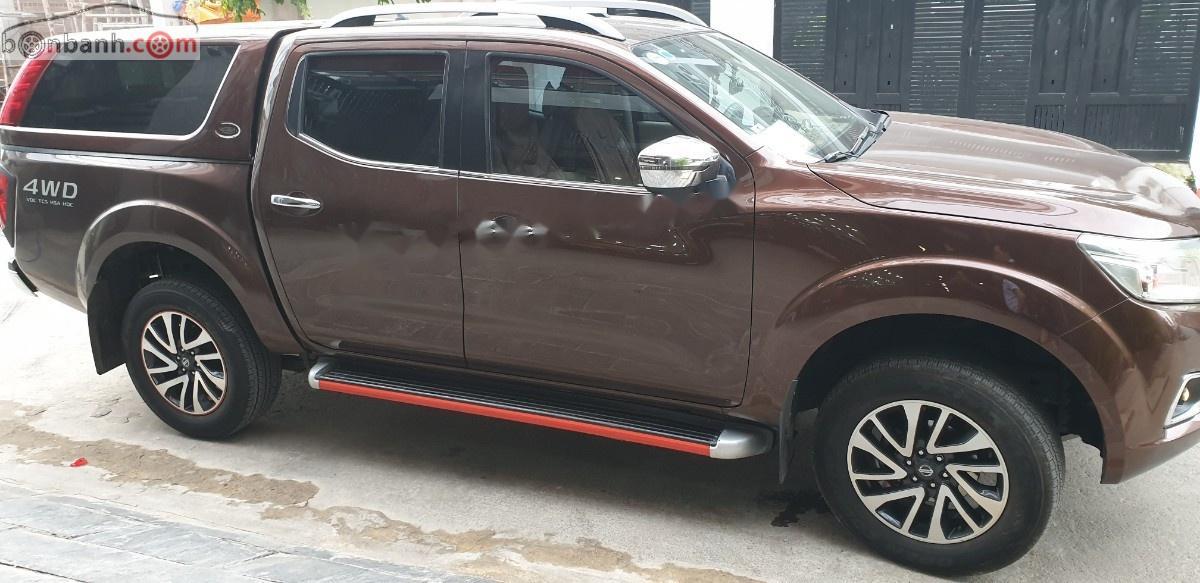 Bán xe Nissan Navara đời 2016, màu nâu, nhập khẩu nguyên chiếc