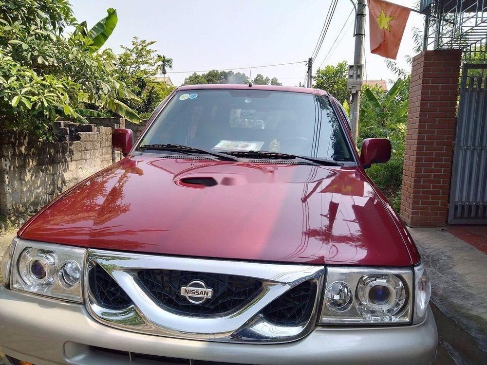 Bán Nissan Terrano năm 2001, màu đỏ, xe nhập như mới