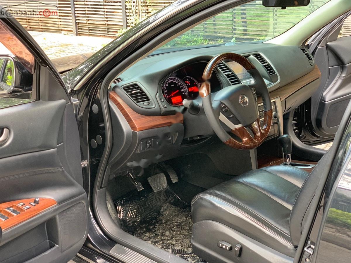 Bán Nissan Teana 2.0 AT sản xuất năm 2011, màu đen, nhập khẩu