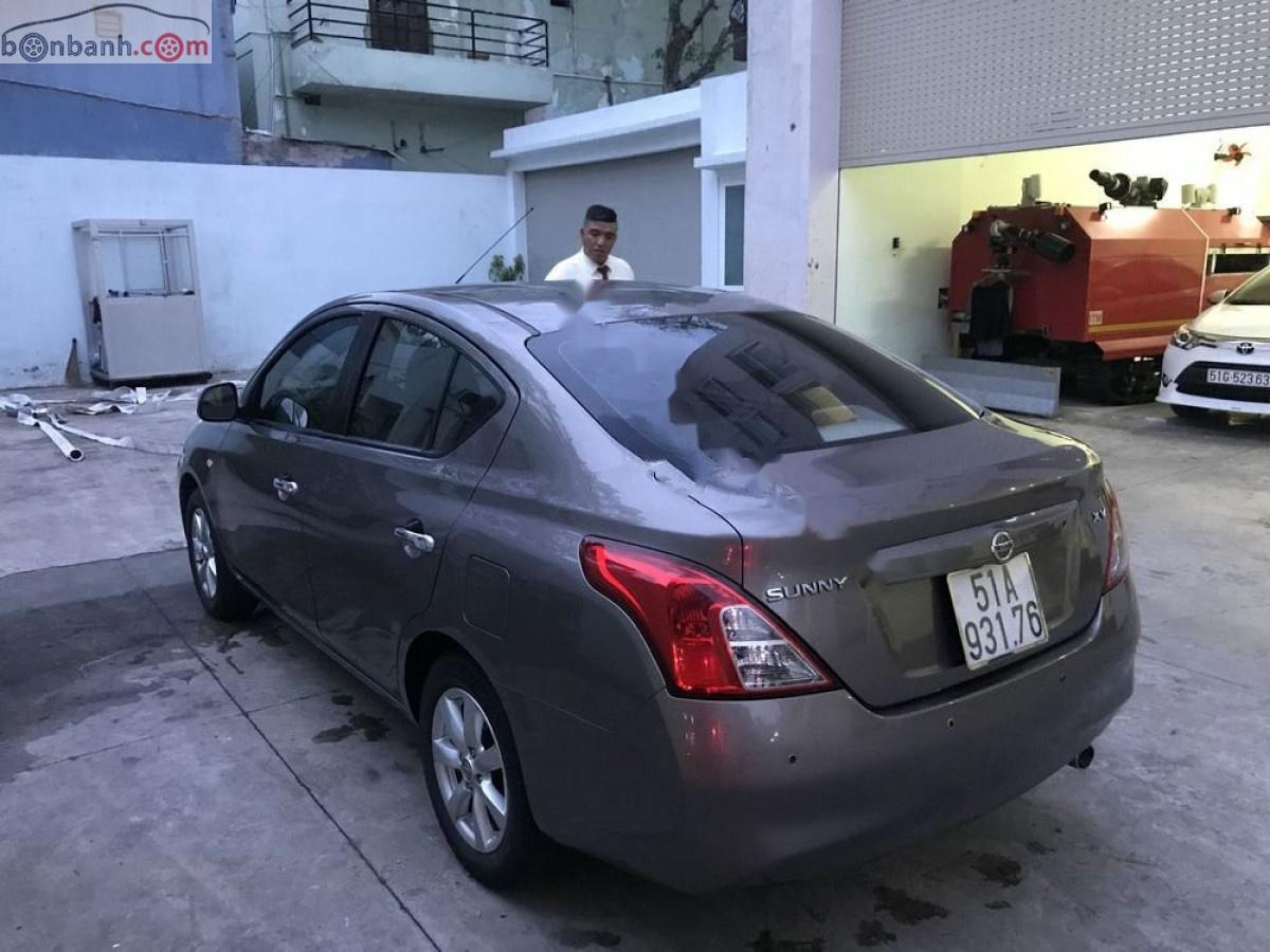 Cần bán gấp Nissan Sunny 1.5 AT XV sản xuất 2014, màu xám, giá tốt