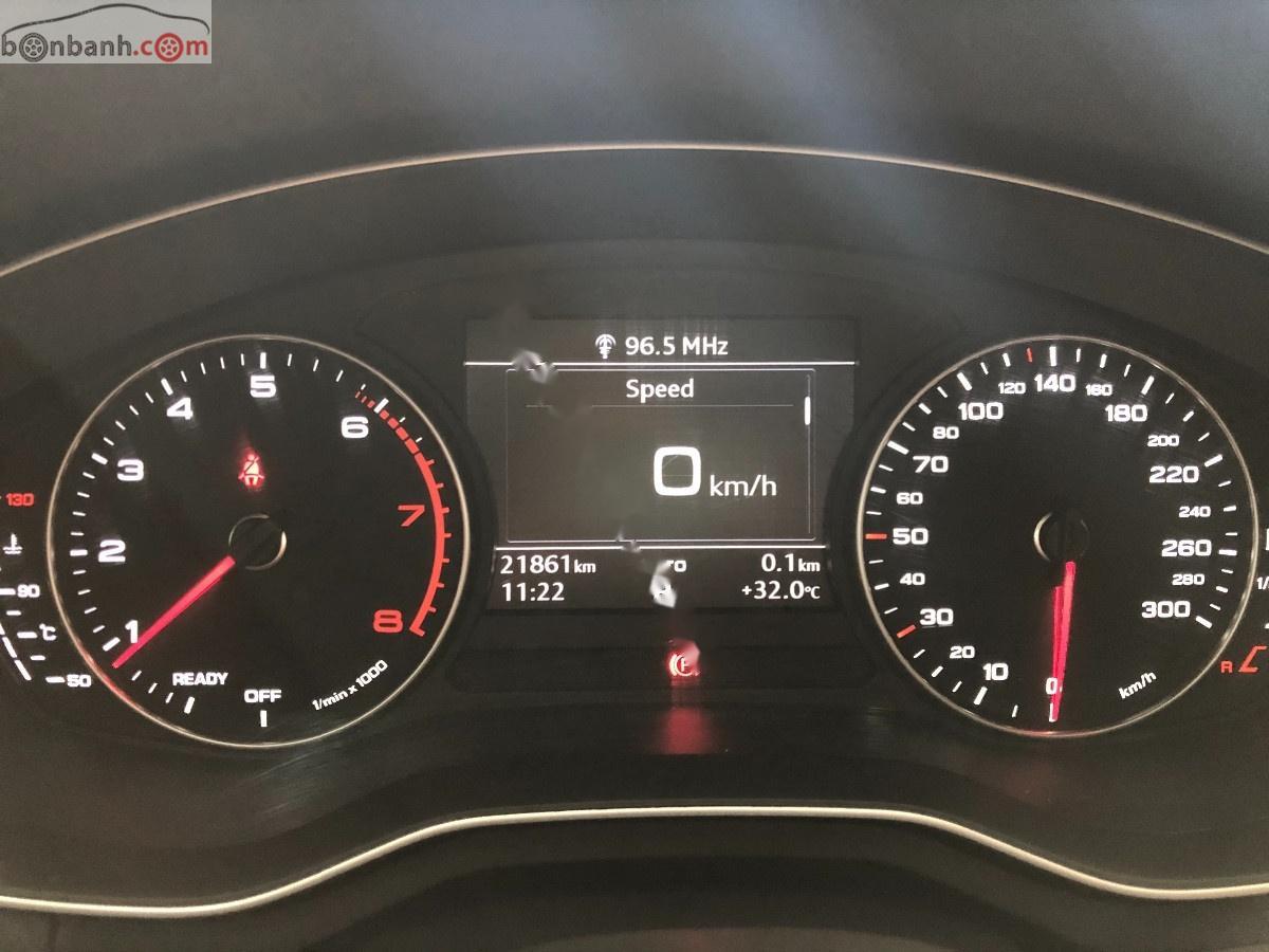 Cần bán Audi A4 2.0 TFSI năm 2016, màu xám, xe nhập