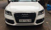 Cần bán Audi Q5 AT năm 2013, màu trắng, nhập khẩu nguyên chiếc giá 1 tỷ 420 tr tại Thái Nguyên