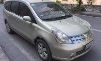 Cần bán xe Nissan Grand livina đời 2011, màu vàng chính chủ, giá chỉ 350 triệu giá 350 triệu tại Hà Nội