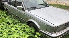 Bán Nissan Bluebird 1989, màu bạc, nhập khẩu giá 16 triệu tại Quảng Ninh