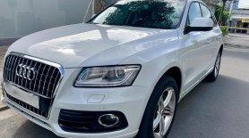 Bán Audi Q5 Premium Plus 2013, màu trắng, nhập khẩu nguyên chiếc, bao test hãng giá 1 tỷ 180 tr tại Tp.HCM