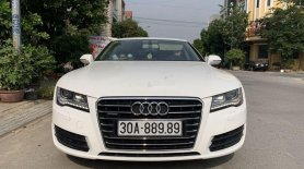 Cần bán gấp Audi A7 đời 2015, màu trắng, nhập khẩu nguyên chiếc giá 3 tỷ 990 tr tại Hà Nội