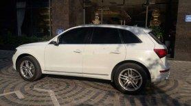 Bán xe Audi Q5 năm 2012, màu trắng, xe nhập chính hãng giá 1 tỷ 400 tr tại Hà Nội