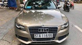 Cần bán gấp Audi A4 đời 2010, màu vàng cát, xe nhập chính hãng giá 630 triệu tại Đồng Nai